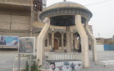 حرم شهدای گلنام مرقد علی بن مهزیار اهوازی