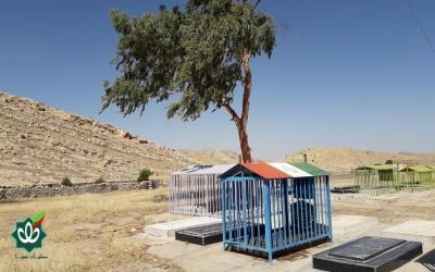 گلزار شهدای روستای تورتاب