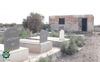 گلزار شهدای روستای چویس 2