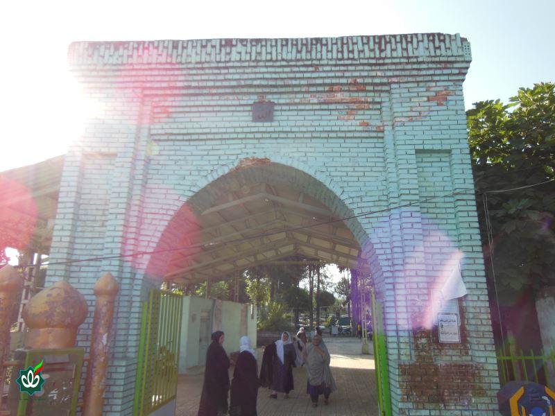 گلزار شهدای تالش حرم  آقا سید نیکی علیه السلام