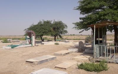 گلزار شهدای روستای سن