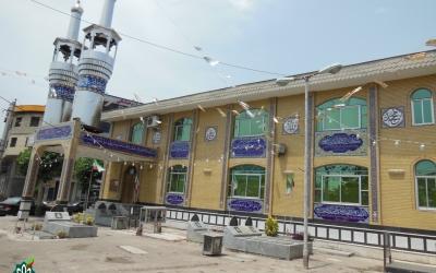 گلزارشهدای شهرستان لنگرود، مسجد امام حسین علیه السلام کیاکلایه لنگرود