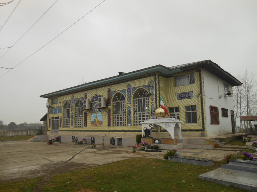 گلزار شهدا  مسجد امیرالمومنین  تازه آباد