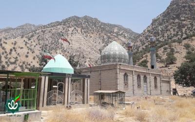 گلزار شهدای روستای کلمت شالو - امامزده عبدالله علیه السلام