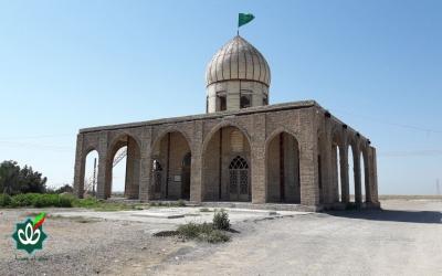 گلزار شهدای روستای جیری - امامزاده شاه ابراهیم علیه السلام