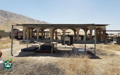 گلزار شهدای روستای پتک جلالی