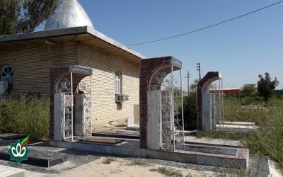 گلزار شهدای روستای ناصرآباد - مقبره مرحوم سید غضبان