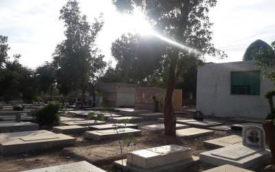 گلزار شهدای روستای کوت سید صالح-مقبره سید خضیر