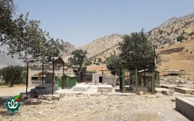 گلزار شهدای روستای رکعت علیا
