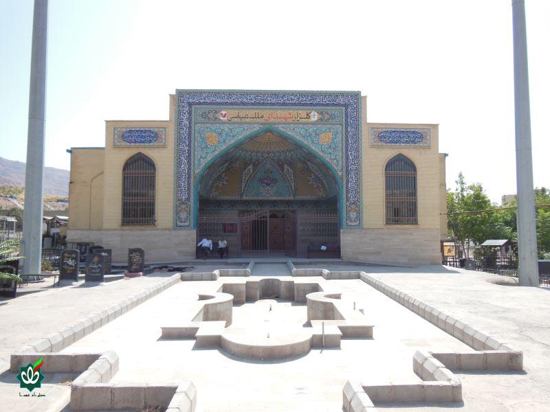 گلزار شهدای تبریز ، ملک عباسی