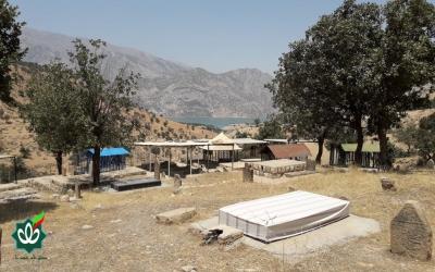 گلزار شهدای روستای نعل کنان