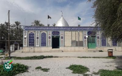 گلزار شهدای روستای قنبریها - امامزاده محمدباقر علیه السلام