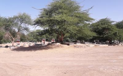 گلزار شهدای روستای سید عباس
