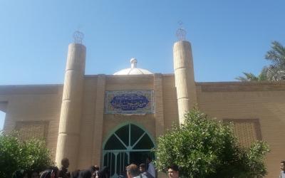 گلزار شهدای روستای بهر-مقبره سید عنایه