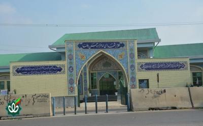 گلزار شهدای روستای سروکلا - امامزاده حسن رضا علیه السلام