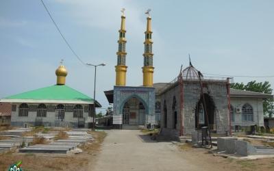 گلزار شهدای چاف، مسجد جامع پایین چاف