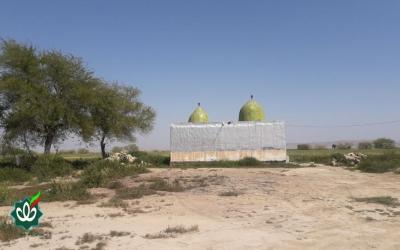 گلزار شهدای روستای چم تنگ - امامزاده اسماعیل و عبدالله علیه السلام