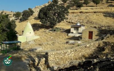 گلزار شهدای روستای چهل تنان